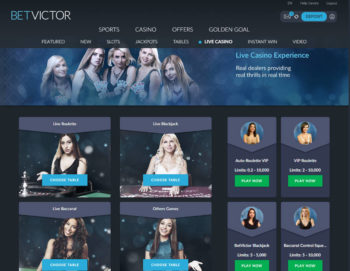 betvictor live roulette
