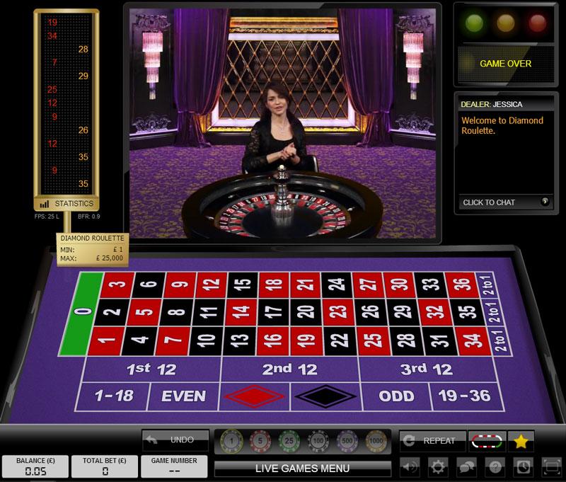 Live French Roulette La Partage HD - Mobil6000