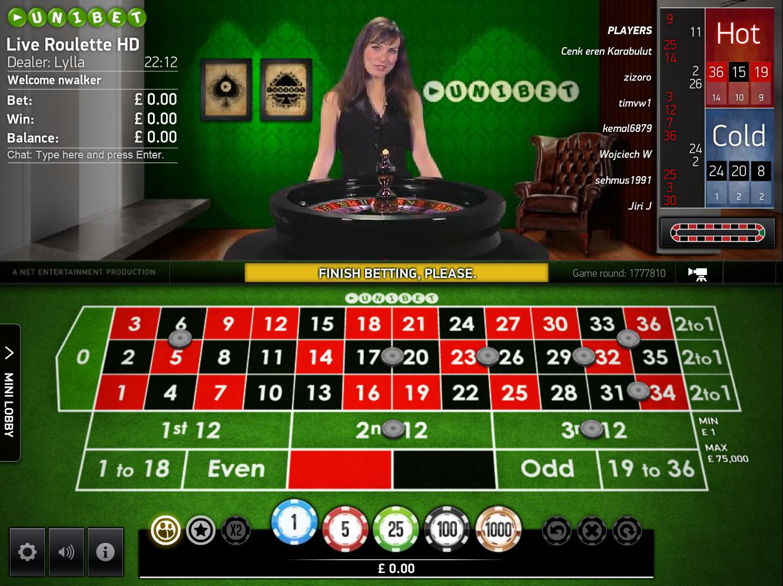 European Roulette - Rizk Casino