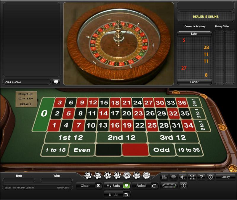 K roulette system
