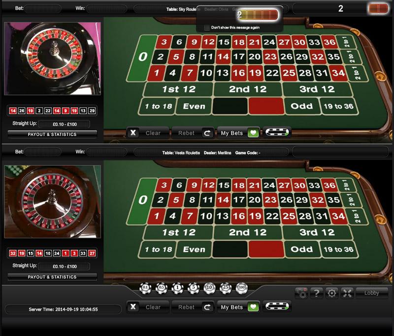 Live roulette sky 862